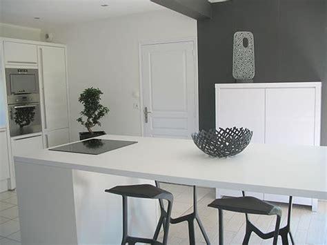 cuisine en blanc meuble cuisine en blanc photo 2 5 autre vue de la pièce