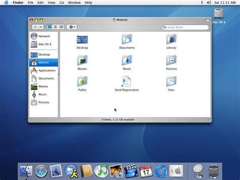 Guidebook > Screenshots > Mac Os X Panther