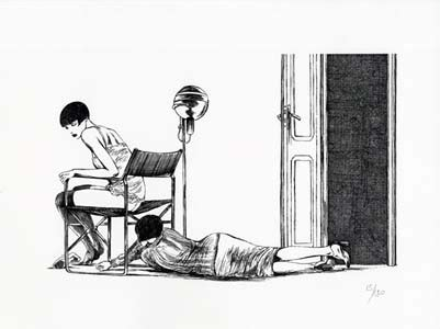 Poster affiche called la scala by guido crepax, only 20 copies, here n. Guido Crepax / Valentina Limited and Numbered Edition Print #6 2008   eBay