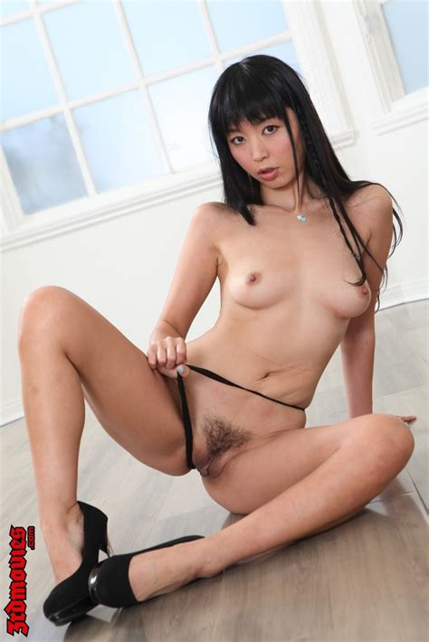 Lovely Asian Marica Hase Pulls Her Panties Down Of