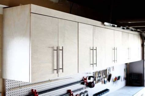 wall mounted garage cabinets  woodworking plancom