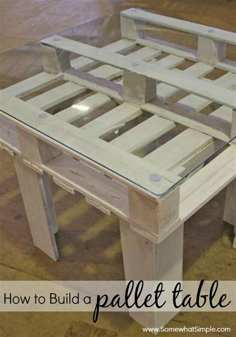 build  pallet table  simple