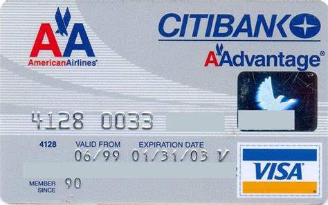 February 2021 1st financial bank usa financial goals scholarship winner: American Airlines VISA (Citibank, United States of America) Col:US-VI-0347-2   American airlines ...