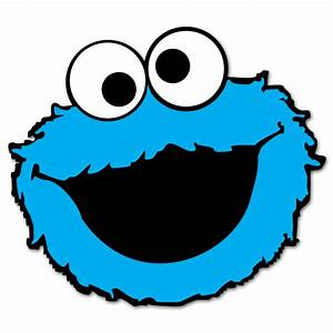 Cookie Monster Face Clipart