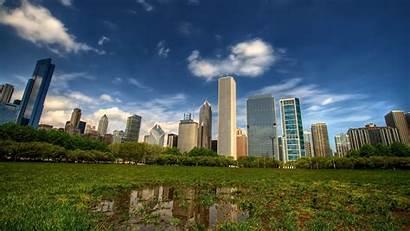 Park Central Chicago Desktop Pantalla Fondo Illinois