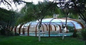 Abri Haut Piscine : les photos des plus beaux abris de piscine rotonde abri ~ Premium-room.com Idées de Décoration