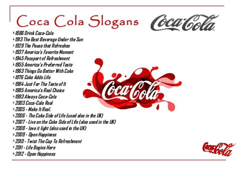 coca cola human resources phone number employee slogans just b cause
