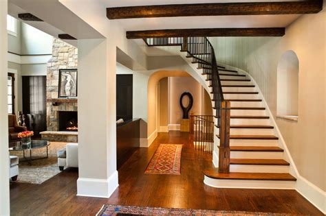 Home Stair : Sandy Springs New Home Stairway-new Homes Designed And