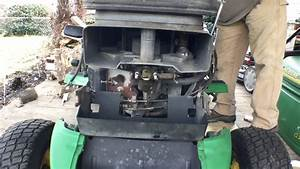 John Deere 345 Engine Surging Fix