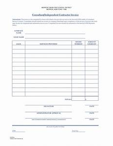 Independent contractor invoice template invoice example for Free invoice template independent contractor invoice example