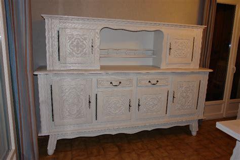 peinture meuble cuisine chene meuble basque repeint table de lit