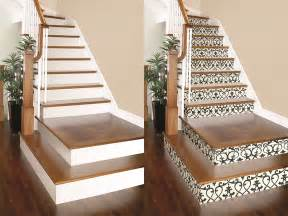 rev any set of stairs with this simple wallpaper project chicago handyman - Treppen Billig