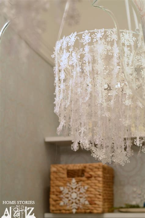 how to make a snowflake chandelier home stories a to z
