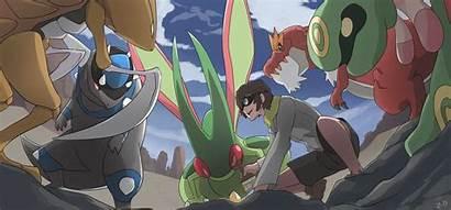 Deviantart Desert Mark331 Pokemon Team Fan Commission