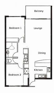 1000, Images, About, 2, Bedroom, Apartment, Floor, Plans, On, Pinterest, Design, Bookmark, 23567