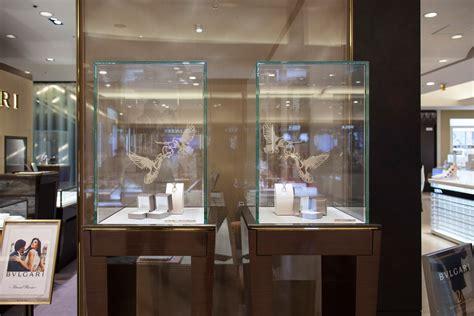 nahoko kojima bulgari bridal art window display paper cut