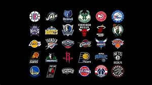 NBA Team Logos Wallpaper 2017 ·①