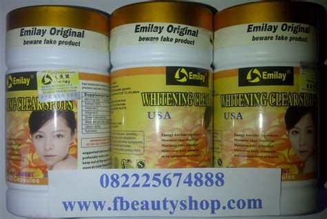 emilay whitening sotfgel usa pemutih kulit