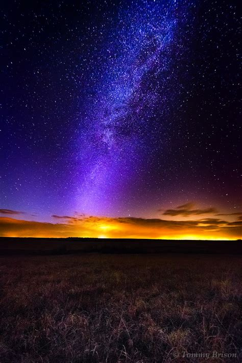 Taberville Prairie The Milky Way