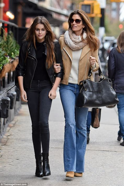 Cindy Crawford steps out with daughter Kaia for hot