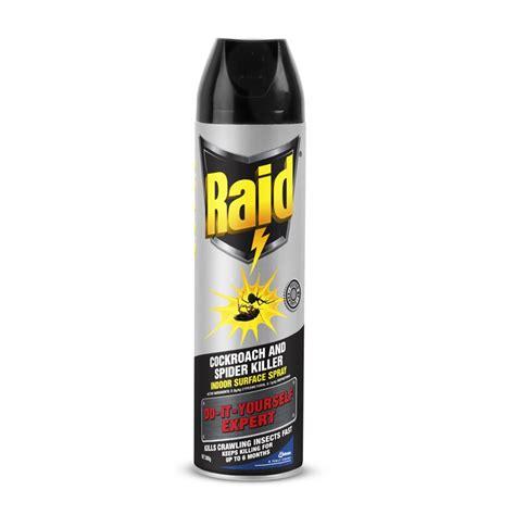 spider spray raid 300g diy expert cockroach and spider spray i n 3010152 bunnings warehouse