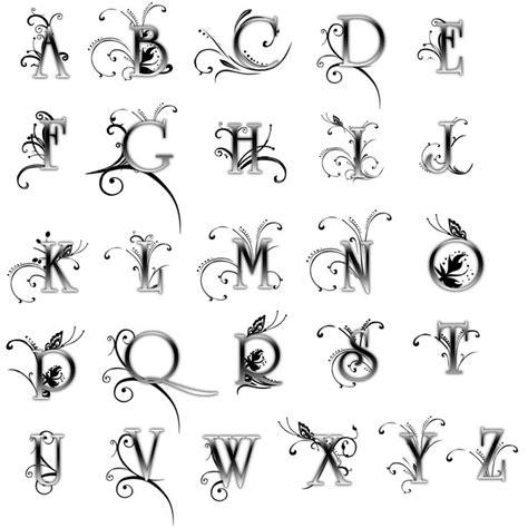 Letras Para Tatuajes Goticas Interesting Abecedario De Letras