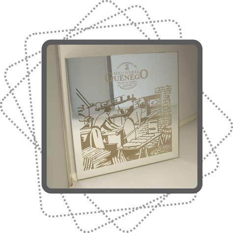 gravure sur miroir personnalise slog print marquage gravure et d 233 coupe laser par slog pring
