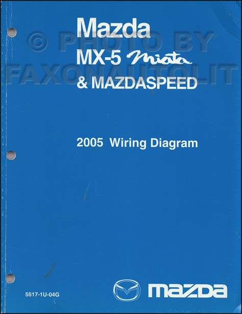 2005 mazda mx 5 miata mazdaspeed wiring diagram manual
