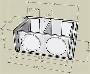 Image result for subwoofer box design for 12 inch in 2019 ...