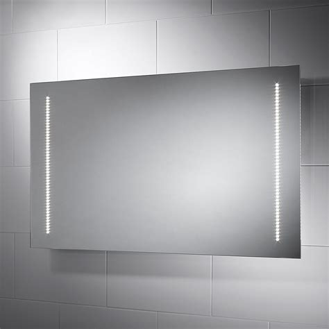 New Bathroom Mirror With Led Lights And Shaver Socket