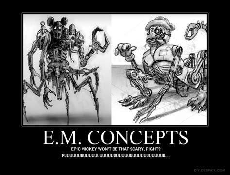 Epic Mickey Concept Motivation By Shadowelecman On Deviantart