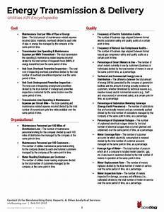 Utilities Industry Kpi  U0026 Metric Guide  Pdf