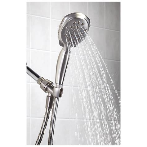 headed shower moen 174 twist handheld shower 283673 bath at