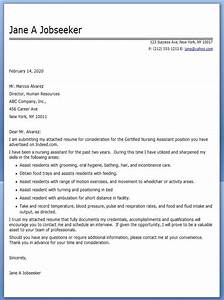 Cna cover letter example resume downloads for Cna cover letter