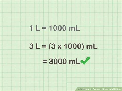 How To Convert Liters To Milliliters (with Unit Converter