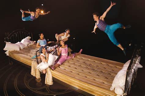 beds for corteo cirque du soleil