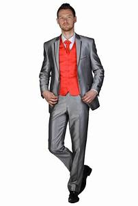 Costume Homme Mariage Blanc : costume mariage argente ~ Farleysfitness.com Idées de Décoration