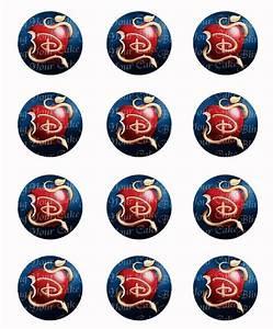 Disney Descendants Logo Edible Icing Sheet Cake Decor