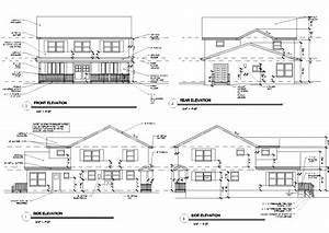 House Floor Plan with Elevation New Architectural House ...