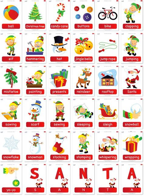 16 Best English Learning Winter Worksheets And Flashcards Images On Pinterest  Songs For