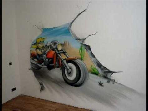 chambre moto aérosoleil graff décoration fresque murale quot moto biker