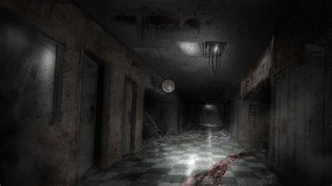 scary hallway backgrounds google search textures