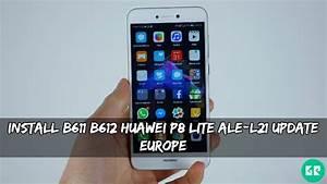Install B611  B612 Huawei P8 Lite Ale