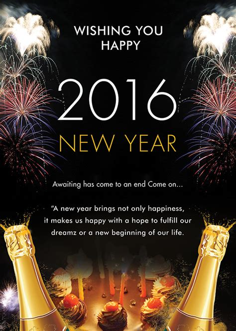 new year template 25 new year invitation templates to sle templates
