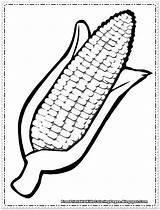 Coloring Corn Candy Kidsworksheetfun Thanksgiving Vegetable Printable sketch template