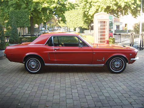 68 Ford Mustang by 68 Ford Mustang Coupe 289 V8 Union Vintage Cars