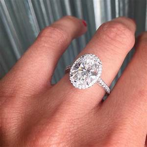 Tiffany soleste oval engagement ring marrige for Wedding band under engagement ring