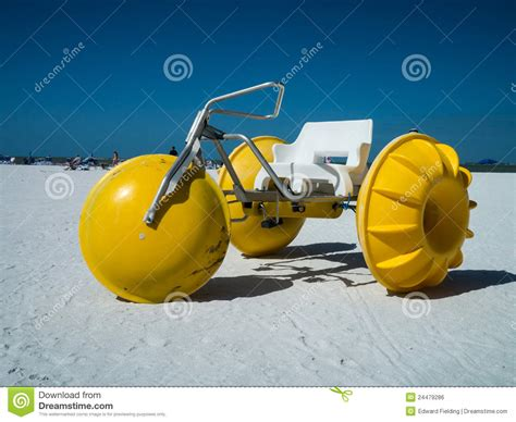 Pedal Boat Wheels by Three Wheeled Paddle Or Petal Boat For Rent Stock Photo