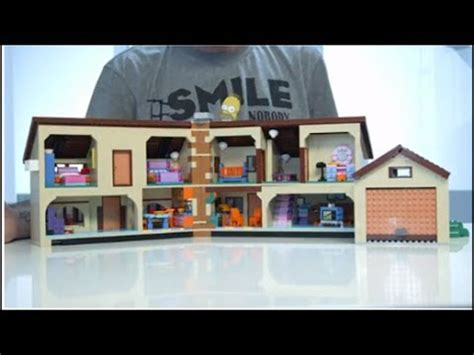 lego huis ontwerpen the simpsons house 71006 designer video youtube