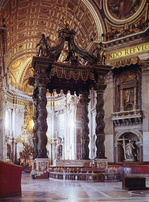 Baldacchino Di S Pietro by Gian Lorenzo Bernini Baldacchino Di San Pietro 1624 33